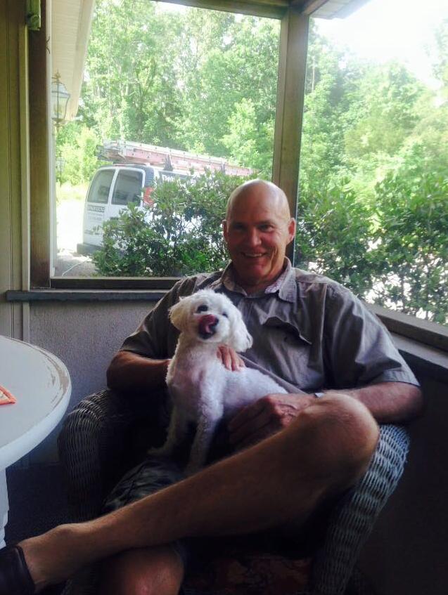 Farmer Fred with Bailey :)