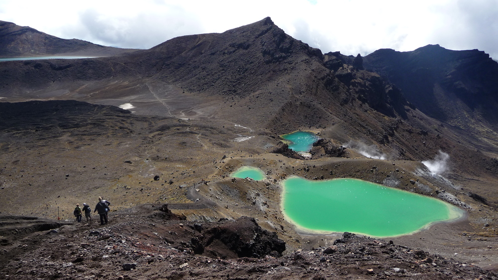 Tongariro Crossing, New Zealand North Island, 2008 taken by Chef Katie during her New Zealand trip