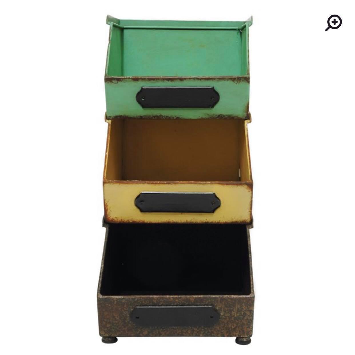 Cute stacking bins