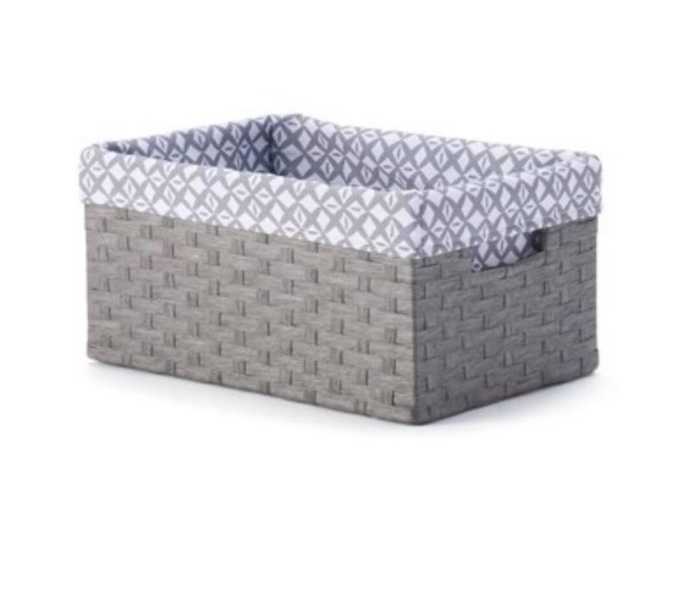Kohls Baskets Gray