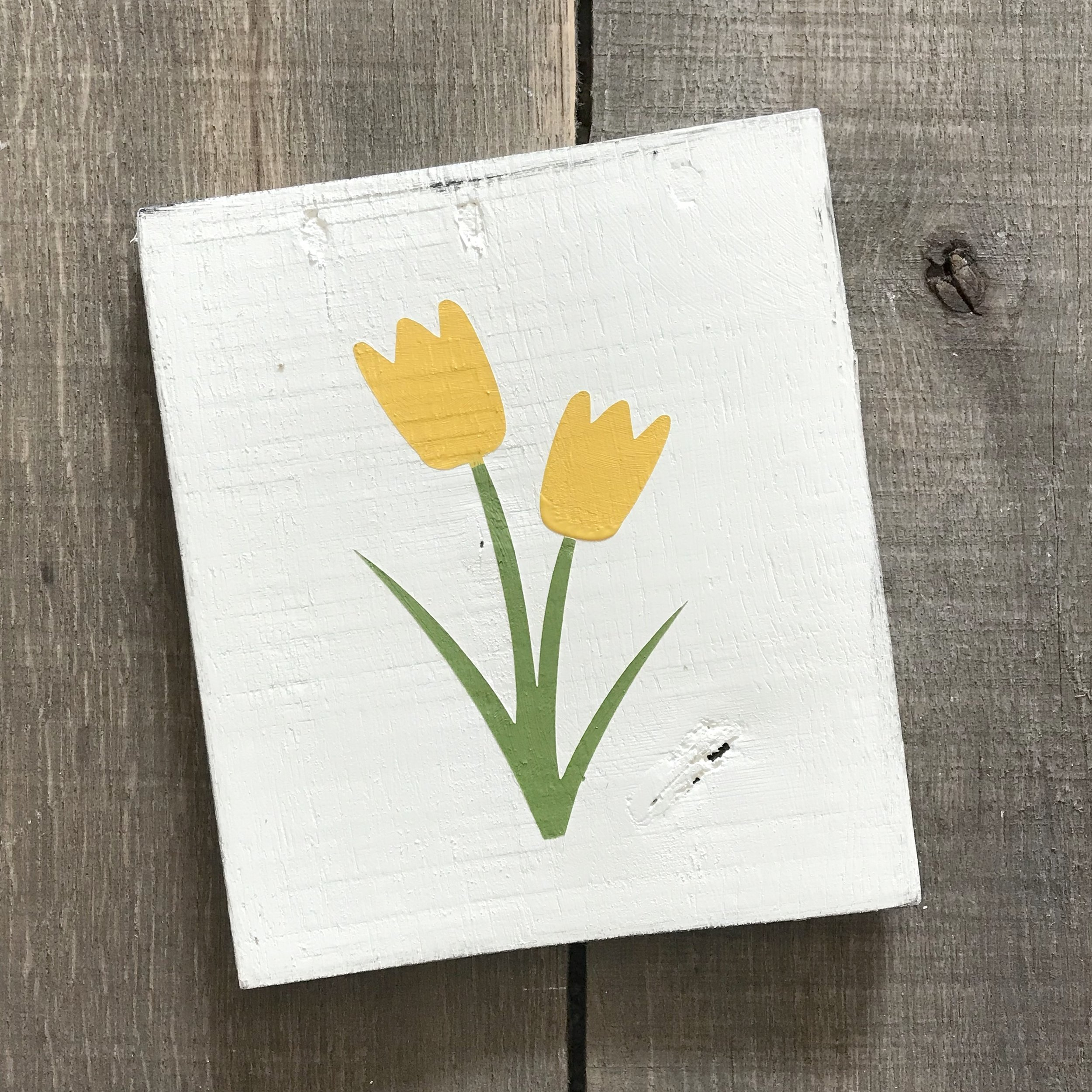 Copy of Yellow Tulip sign
