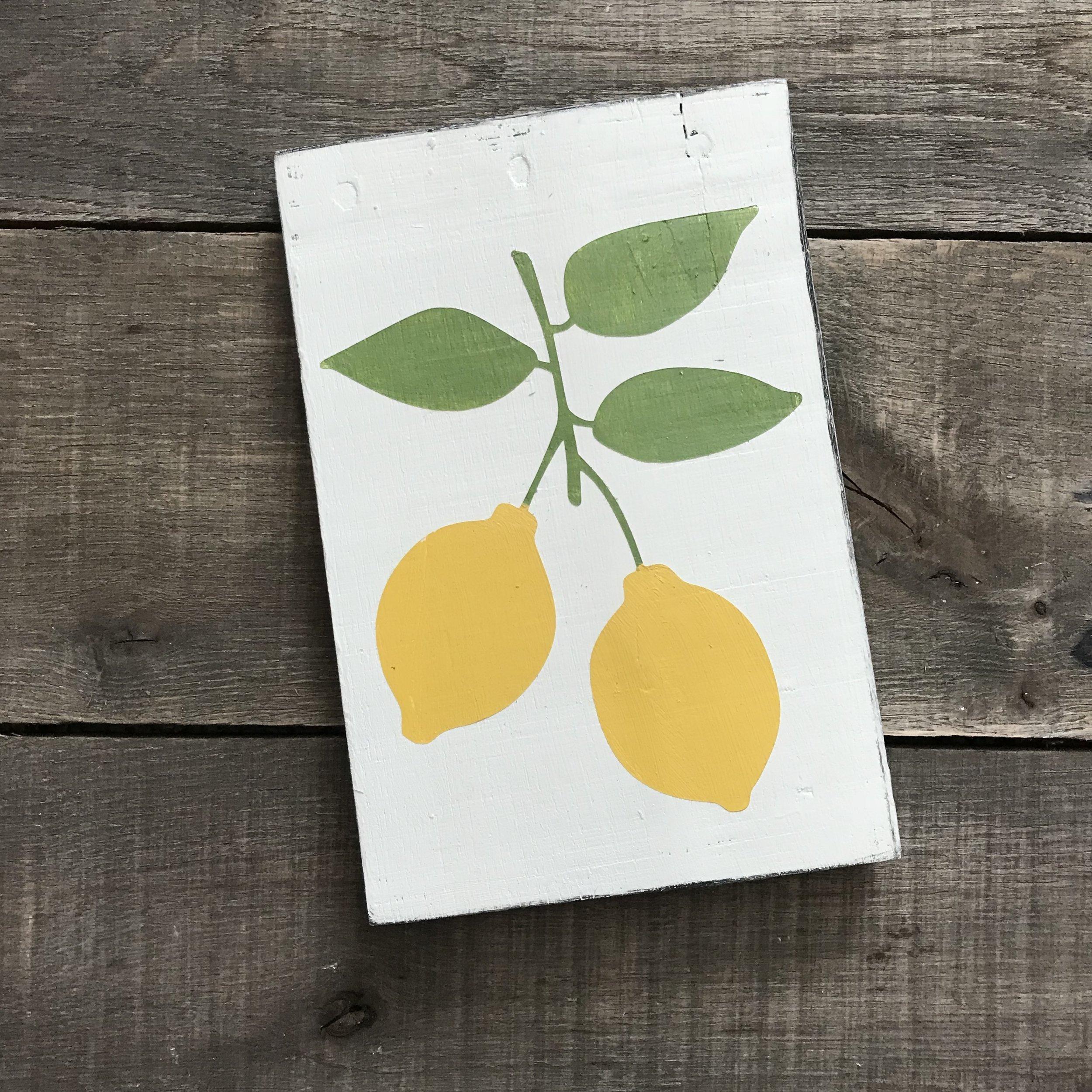 Copy of Lemon sign