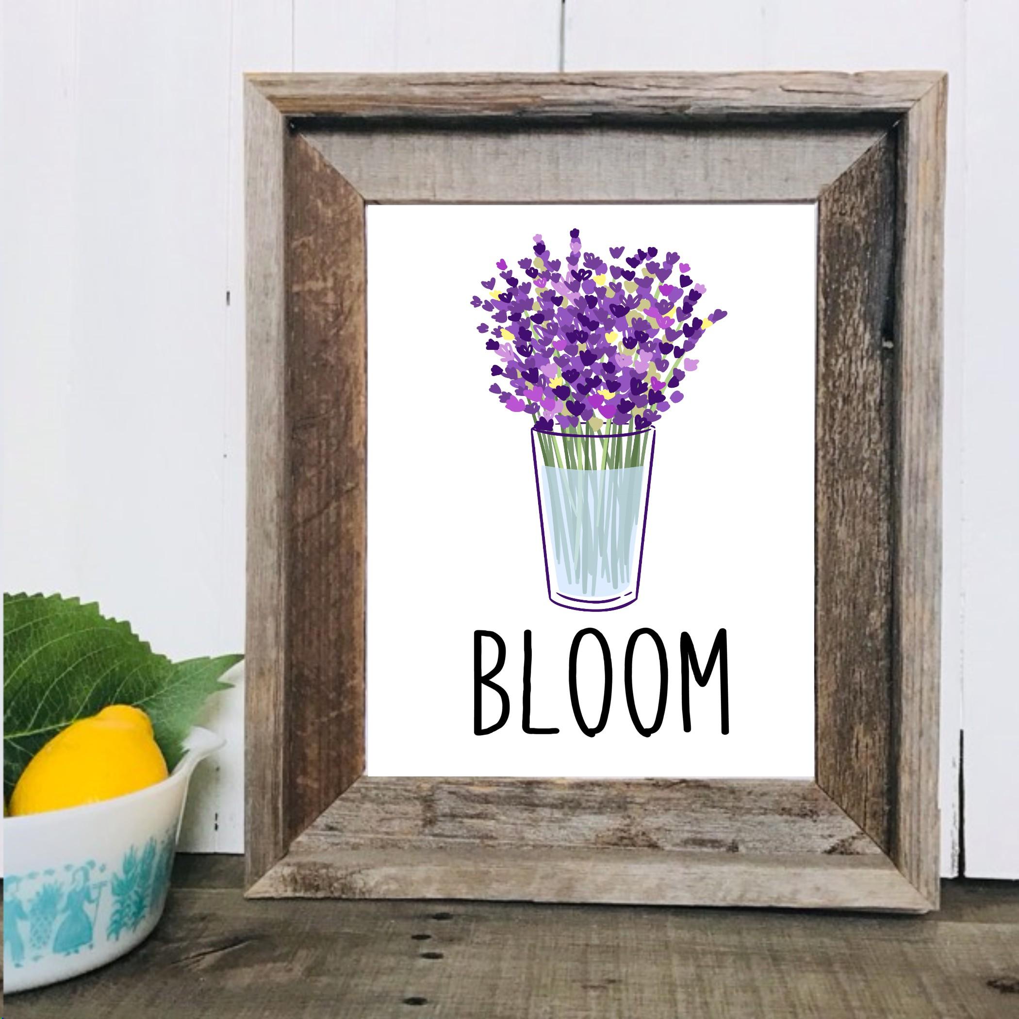 Lavender Printable