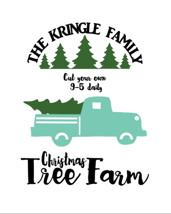 Christmas Truck Printables