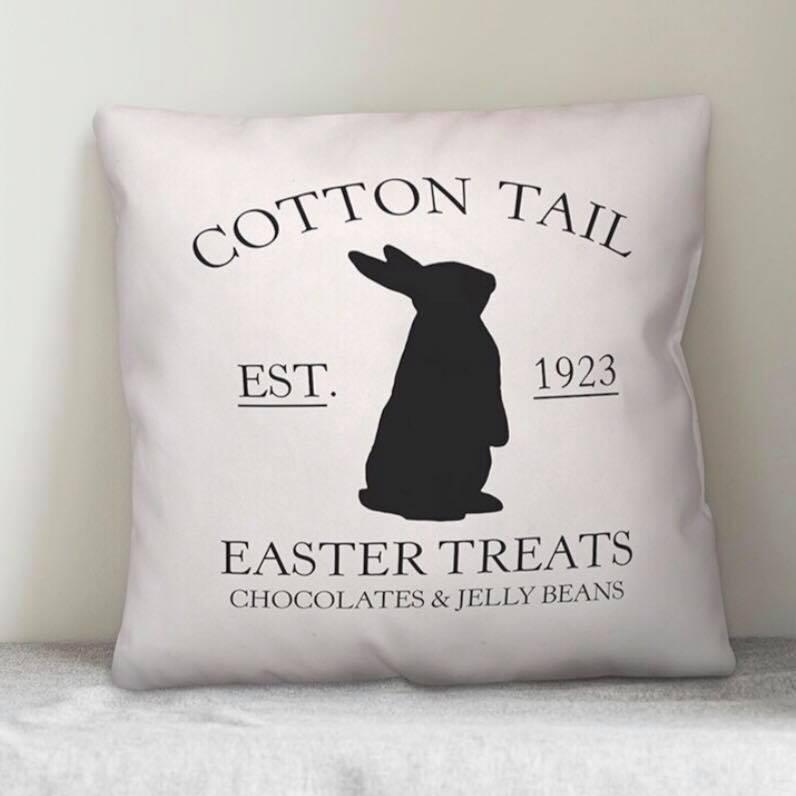 Cotton Tail Wayfair Farmhouse Easter Pillow