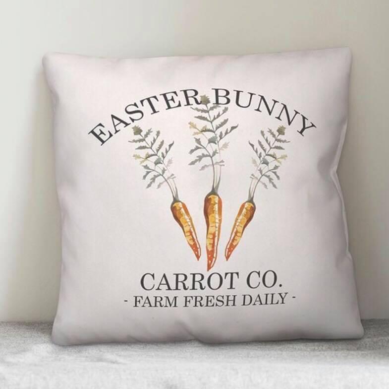 Carrot Co. Wayfair Easter Pillow