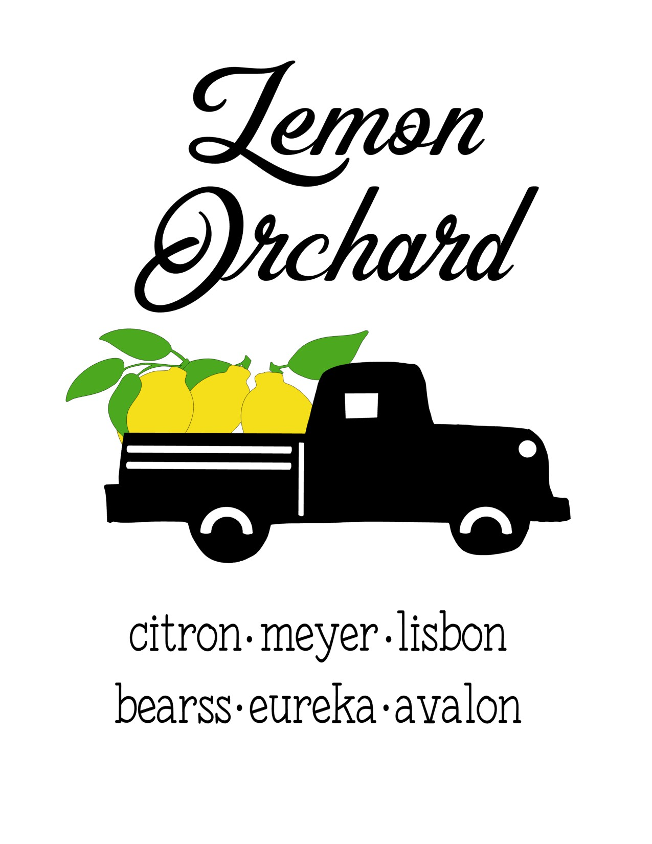 Anchored Soul Lemon Truck Black