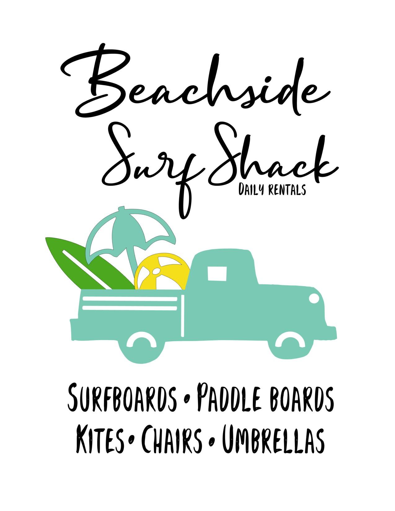 Anchored Soul Surf Shack Aqua Truck