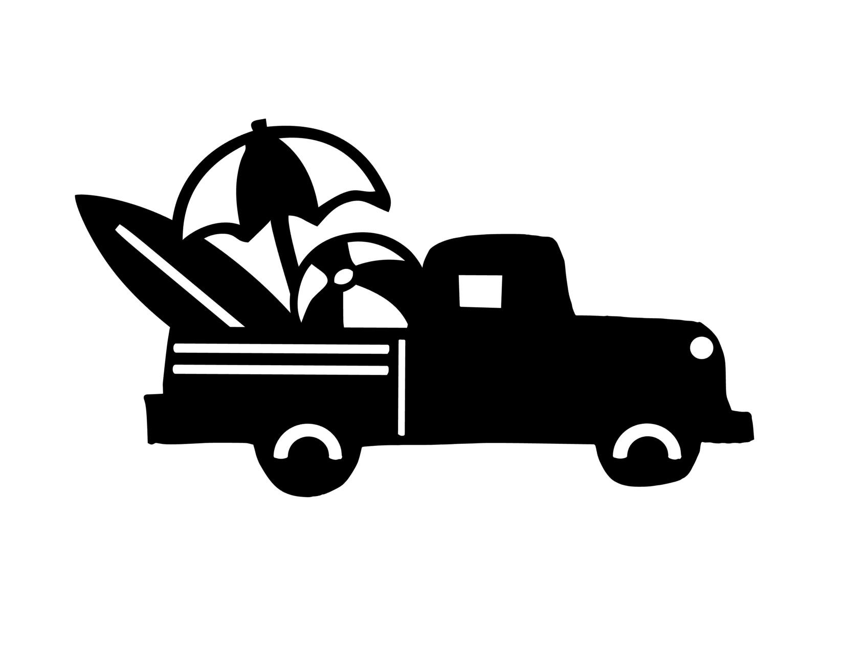 Anchored Soul Black Beach Truck