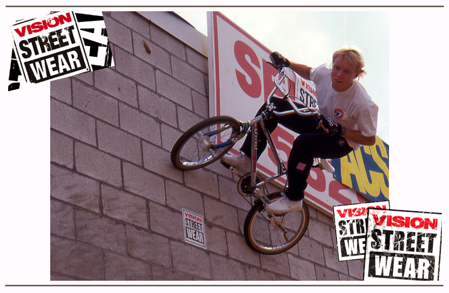Vision was a big supporter of BMX and Freestyle, Brad shot this Dyno rider at a Vision 2-Hip King of Street event.