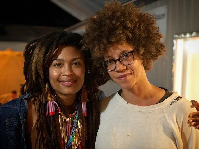 @thevaleriejune thank you for sharing your light and reminding us of ours last night at @phillyfolkfest! #WestTN #blackgirlmagic✨