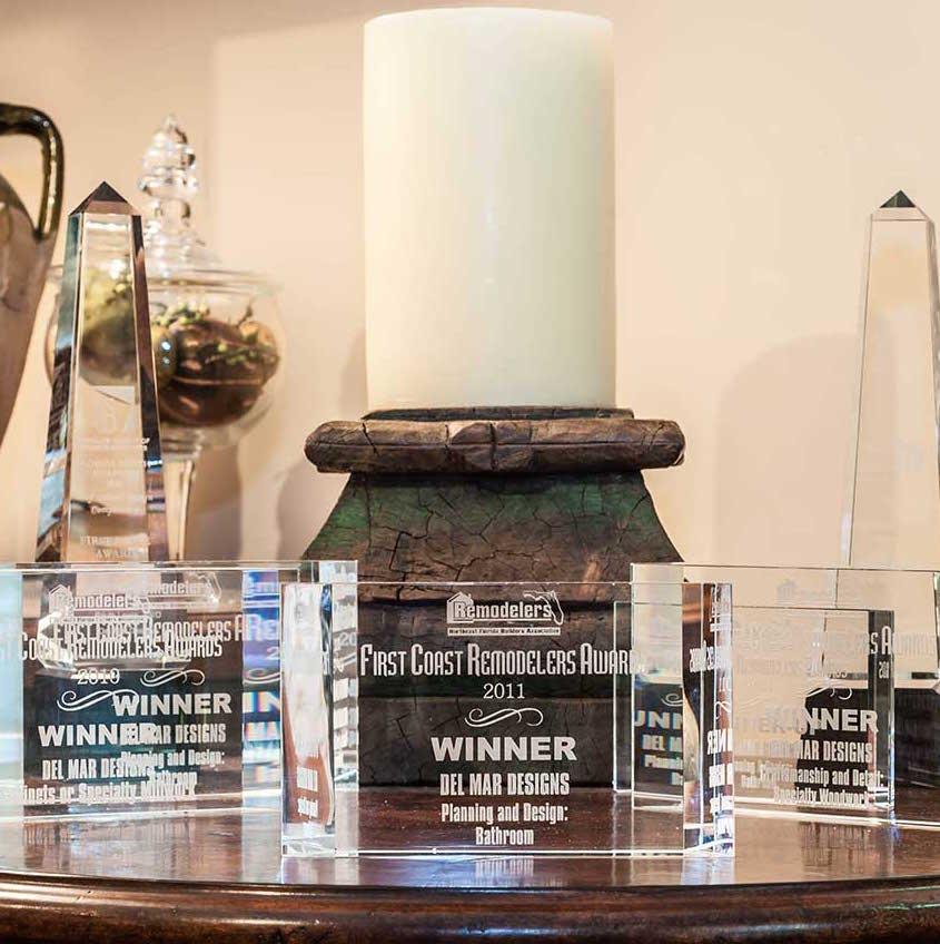 Awards for Del Mar Designs