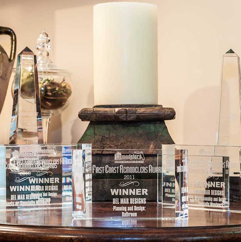 Awards for Del Mar Designs