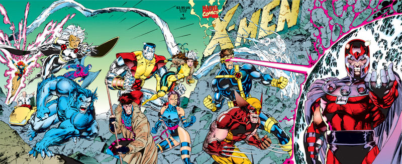 These are my X-men and they work on screen just like they are.