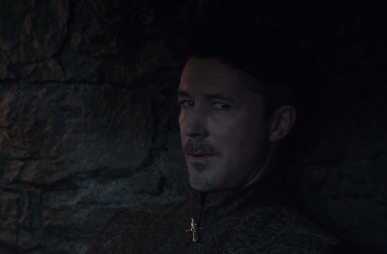 The eyes of Littlefinger Game of Thrones Episode 10 Season 6