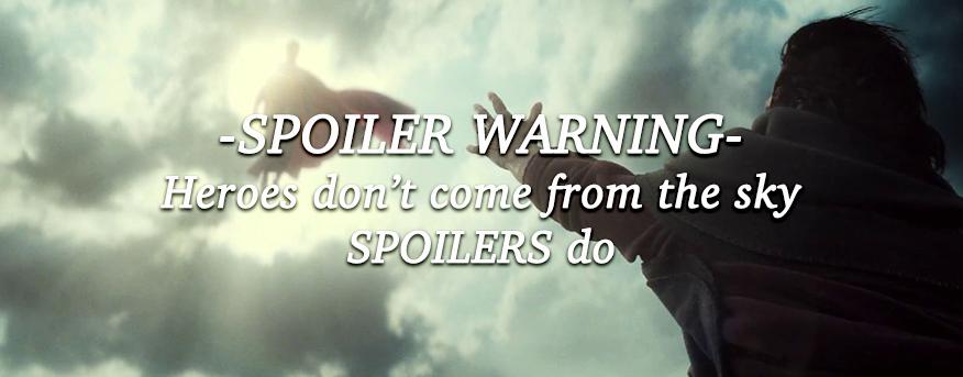 DC Universe Spoiler Warning