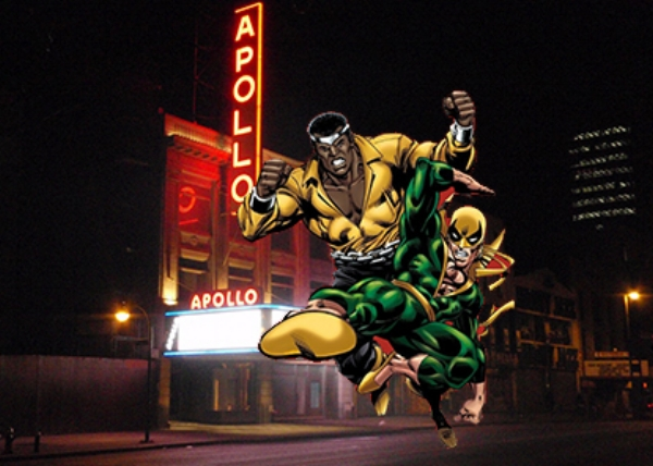 Luke Cage and Iron Fist in Harlem