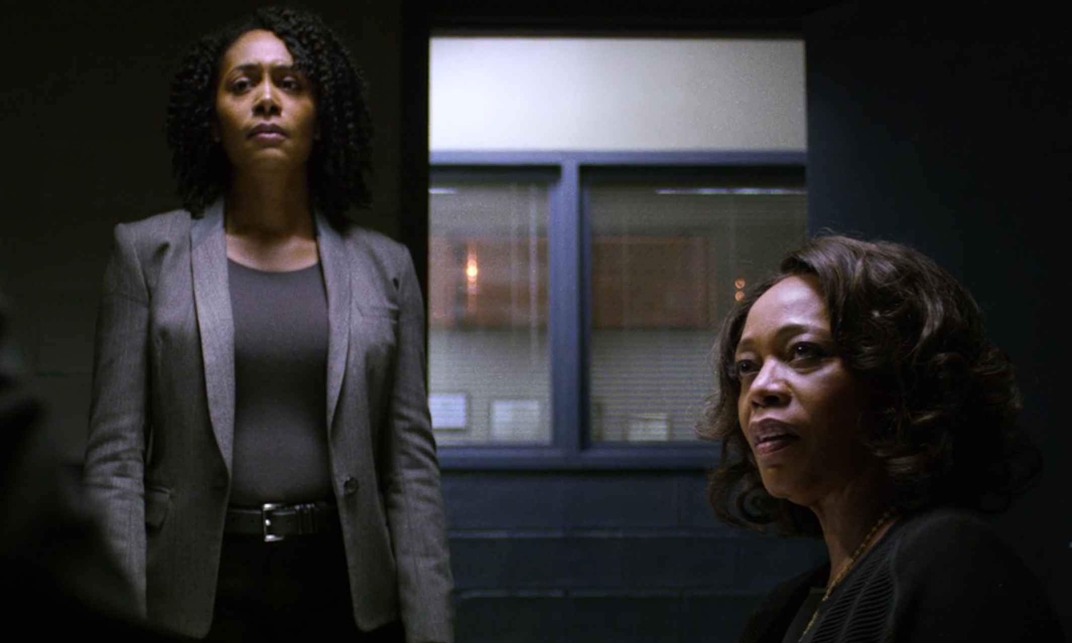 Misty Knight and Black Mariah in Netflix's Luke Cage