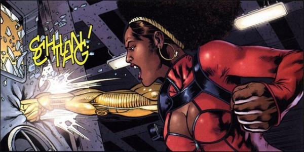 Misty Knight from Luke Cage's Marvel comics