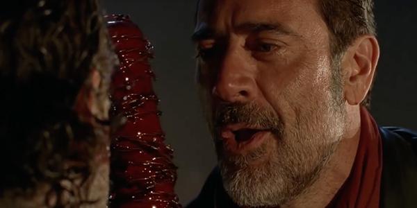 Negan Knocks on Rick's Weakness