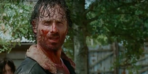 Rick Kills Gareth of the Hilltop Gang
