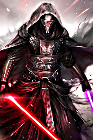 Revan Sith and Jedi Master in Star Wars The Old Republic