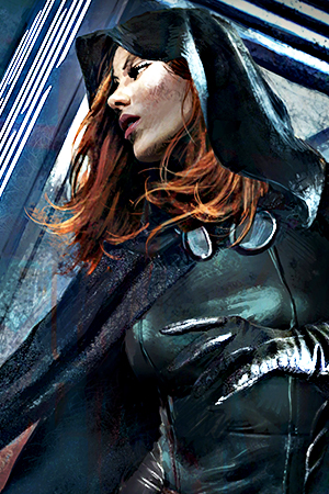 Mara Jade from the former Expanded Universe of Star Wars