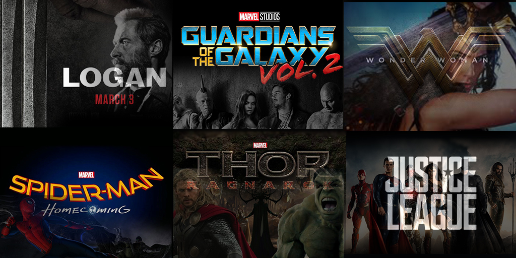 2017 Comic Book Movie Preview POLL