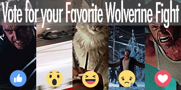 Vote for your favorite Wolverine fight scene