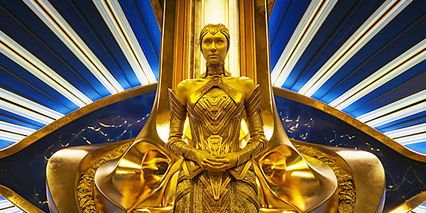 Ayesha in Guardians of the Galaxy vol. 2