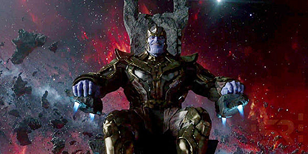 Thanos in Guardians of the Galaxy