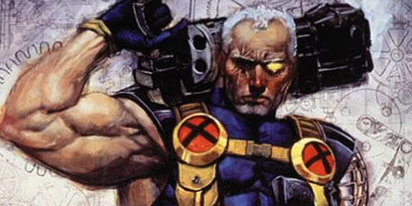 Cable with his Big Future Guns