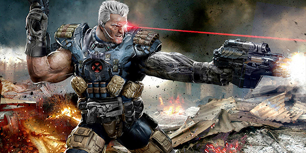 Cable as seen in the video game Marvel Heroes