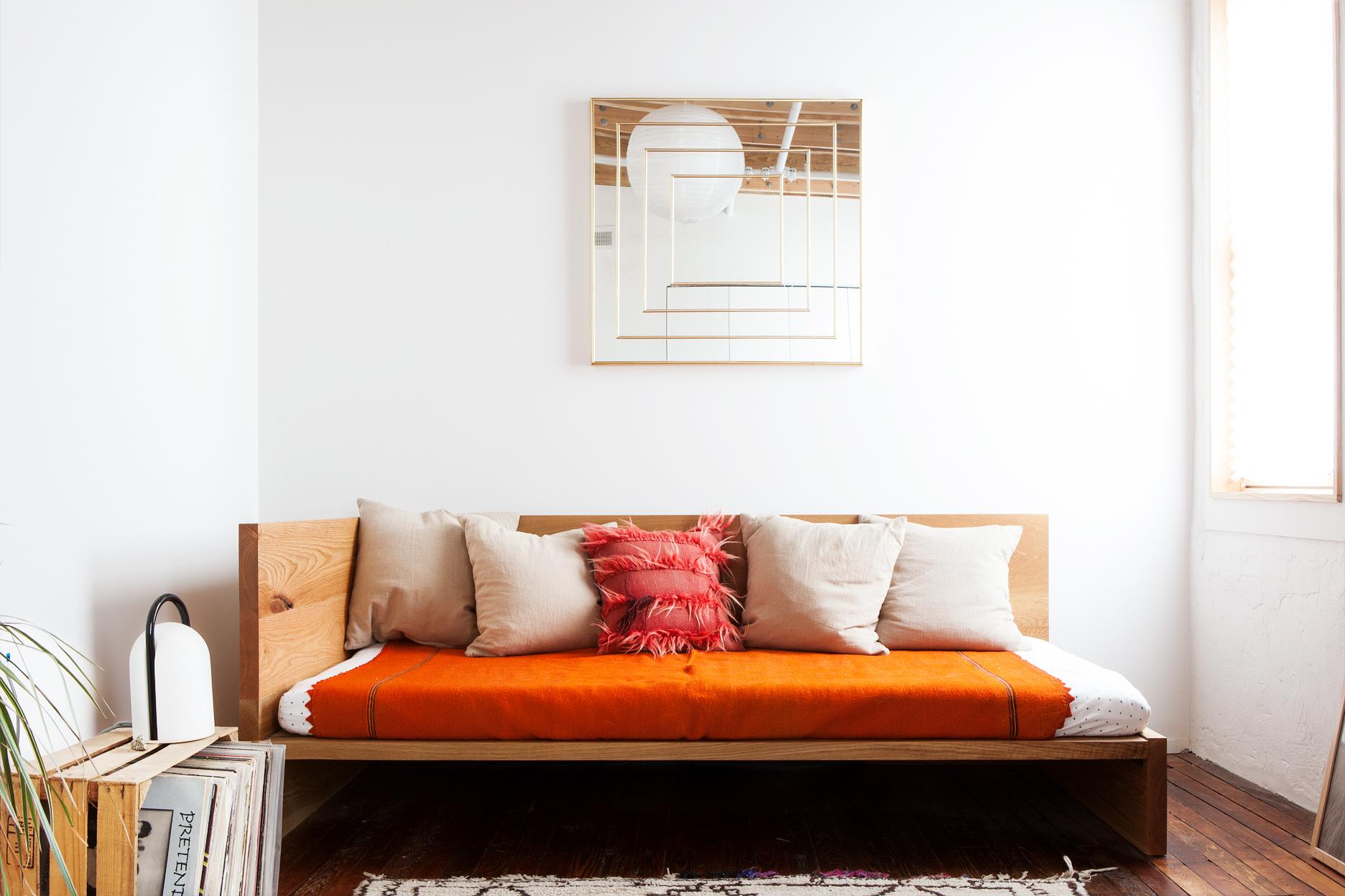 Oak Day Bed