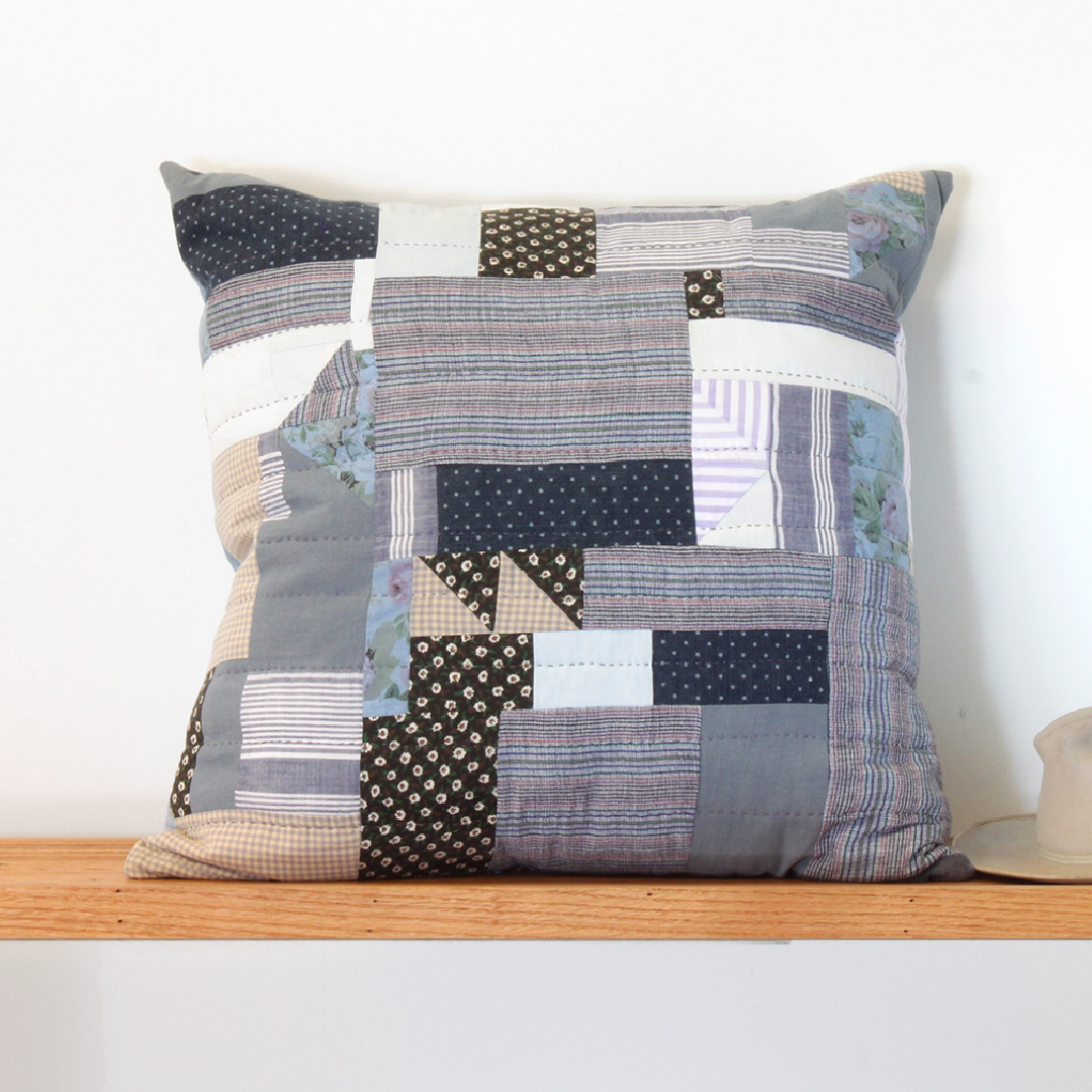 Los Feliz Hand Quilted Pillow - $550