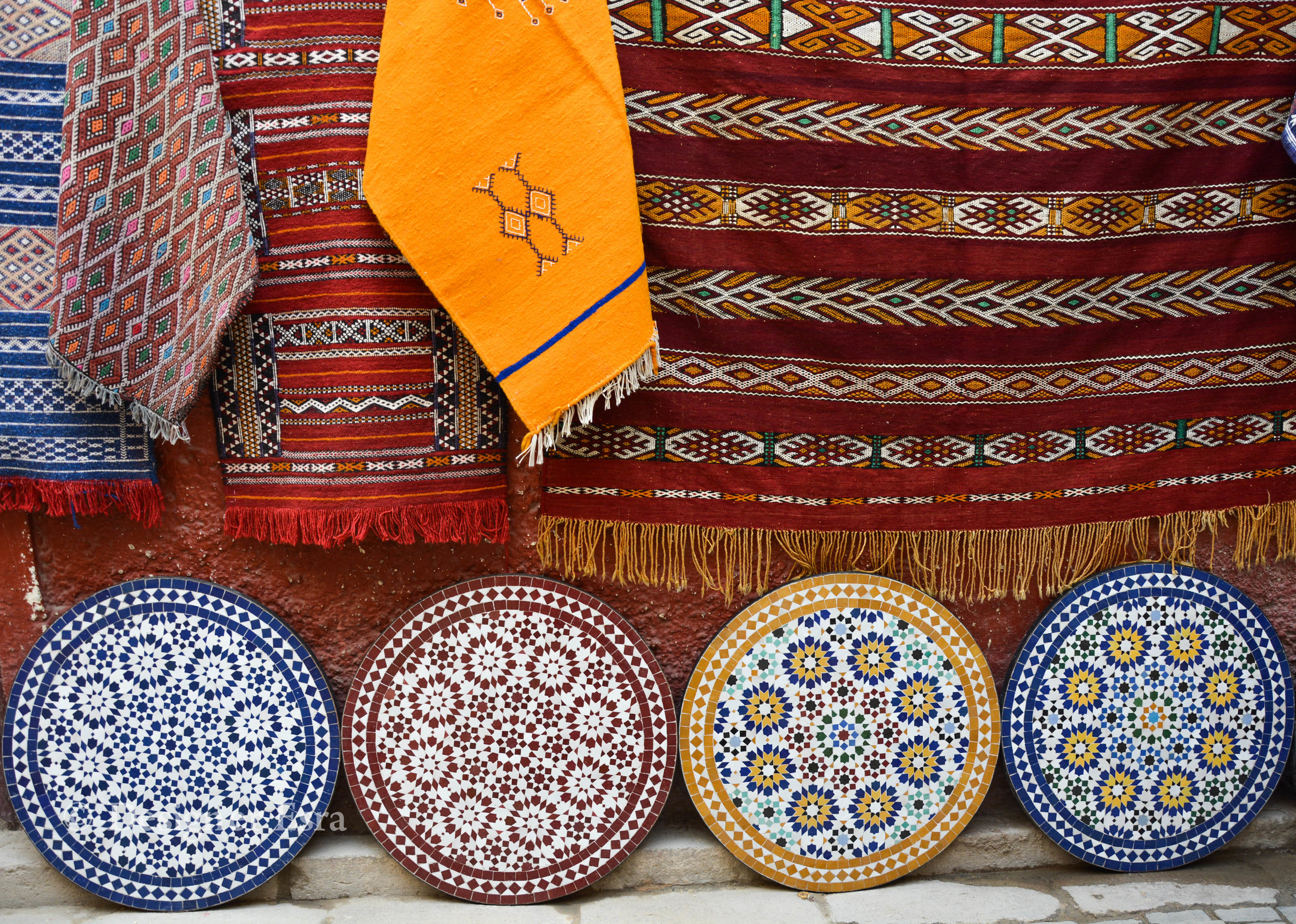 Islamic Patterns and Bright Colours