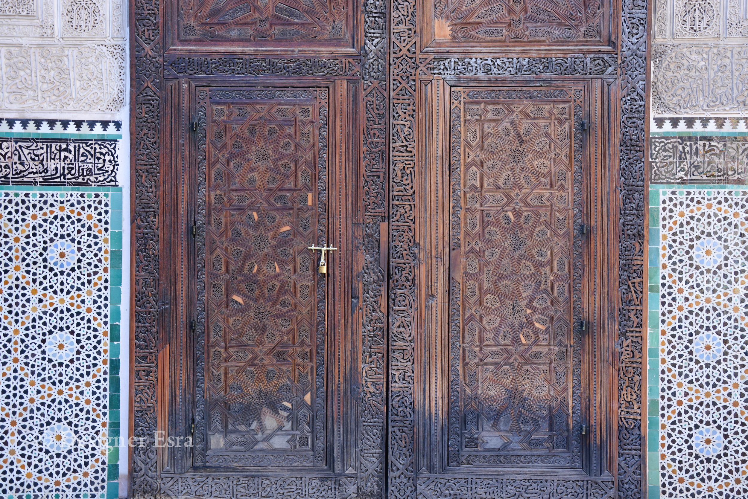 Islamic Geometric Patterns in Fez