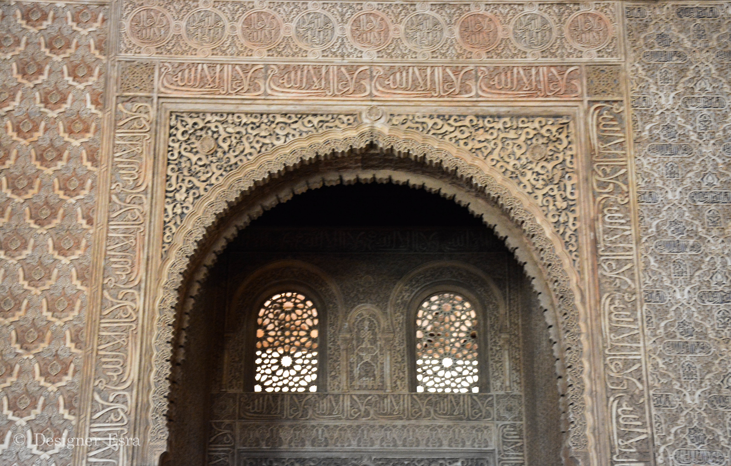 Windows and patterns in Islamic Architecture