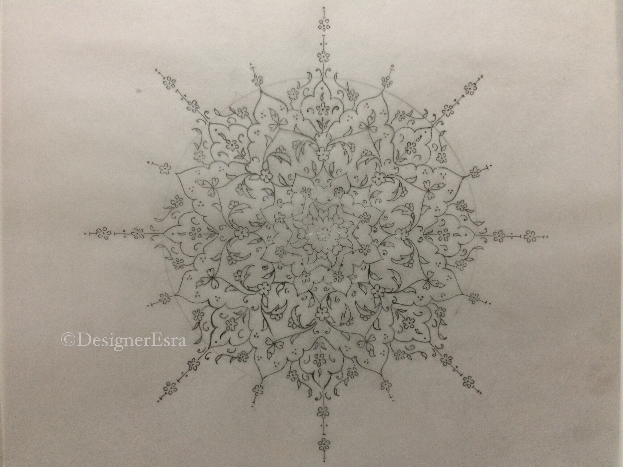 Illuminated Sun Design
