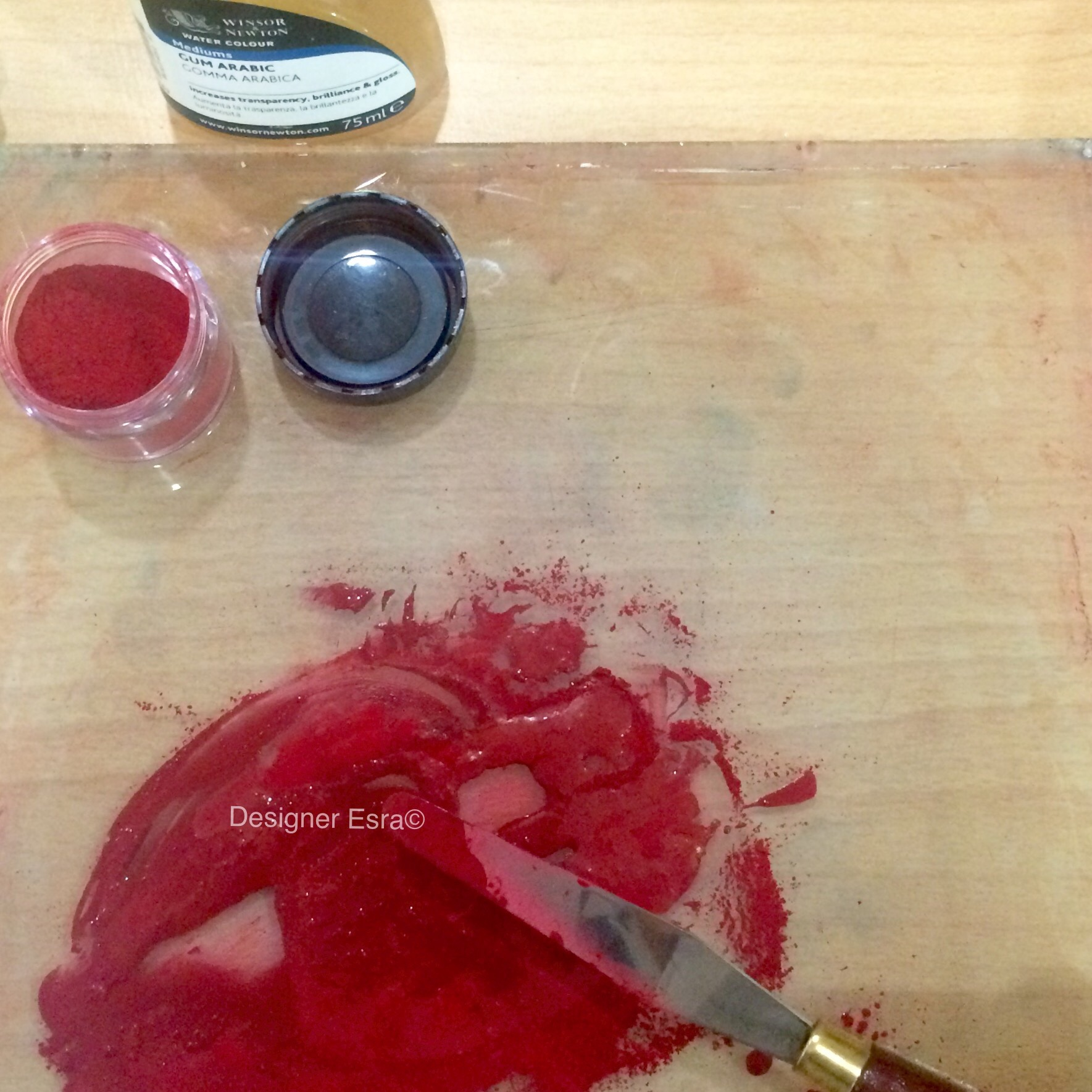 How to make paint from pigments