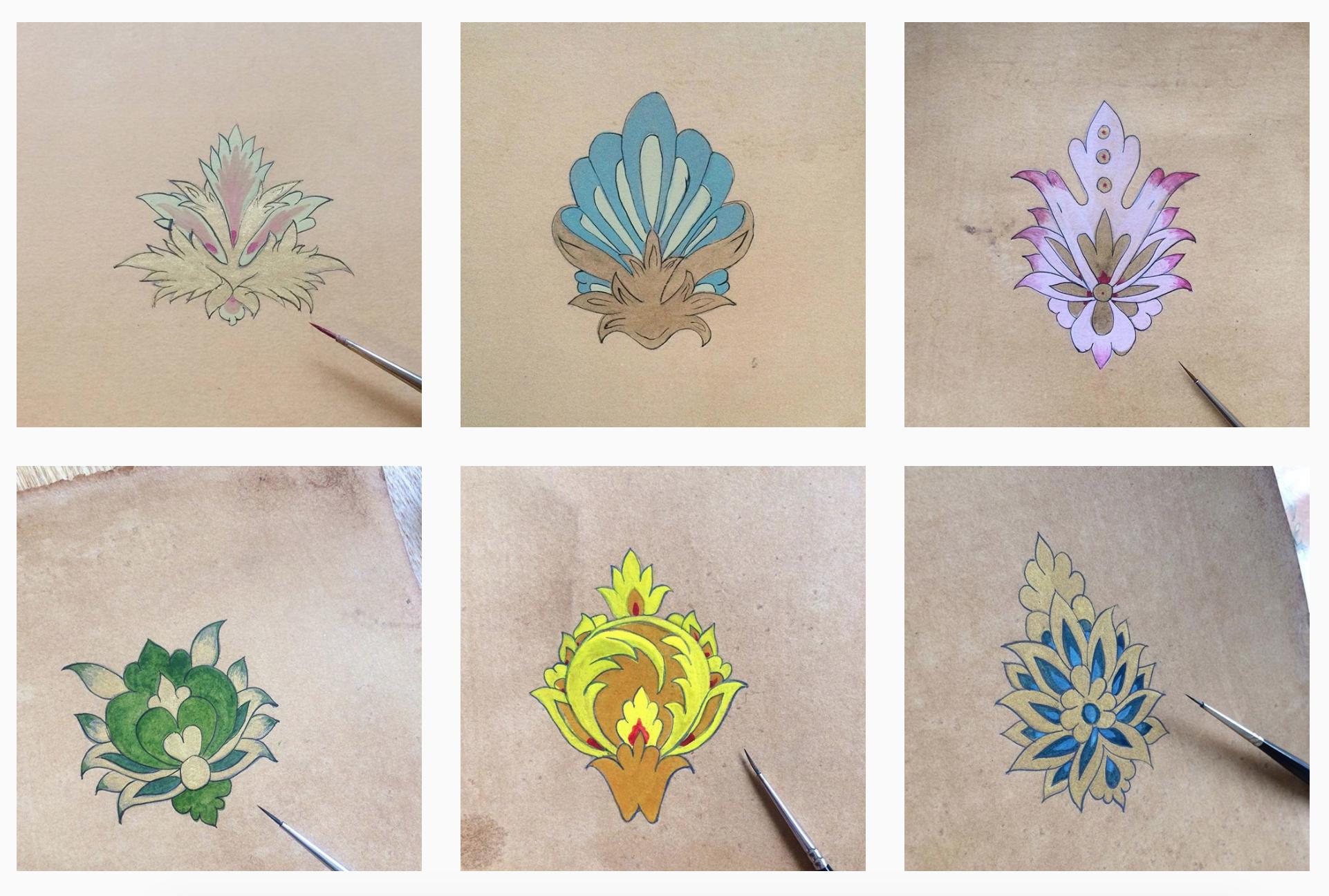 Golden Flower March Art Challengeتحدي الوردة الذهبية الفني مارس