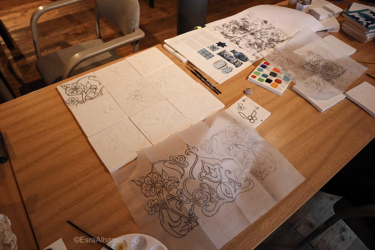 How to make an islamic inspired tile design?