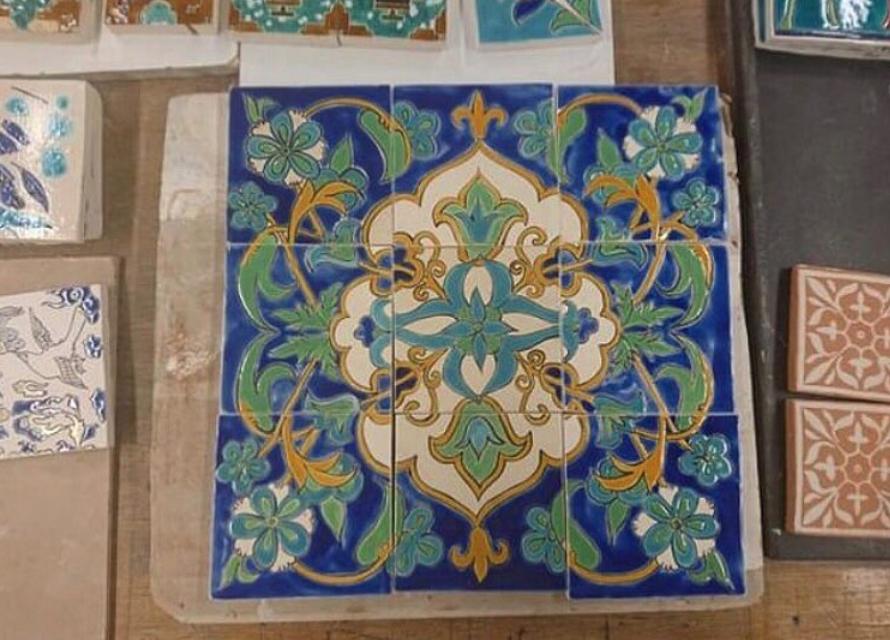finished tile design
