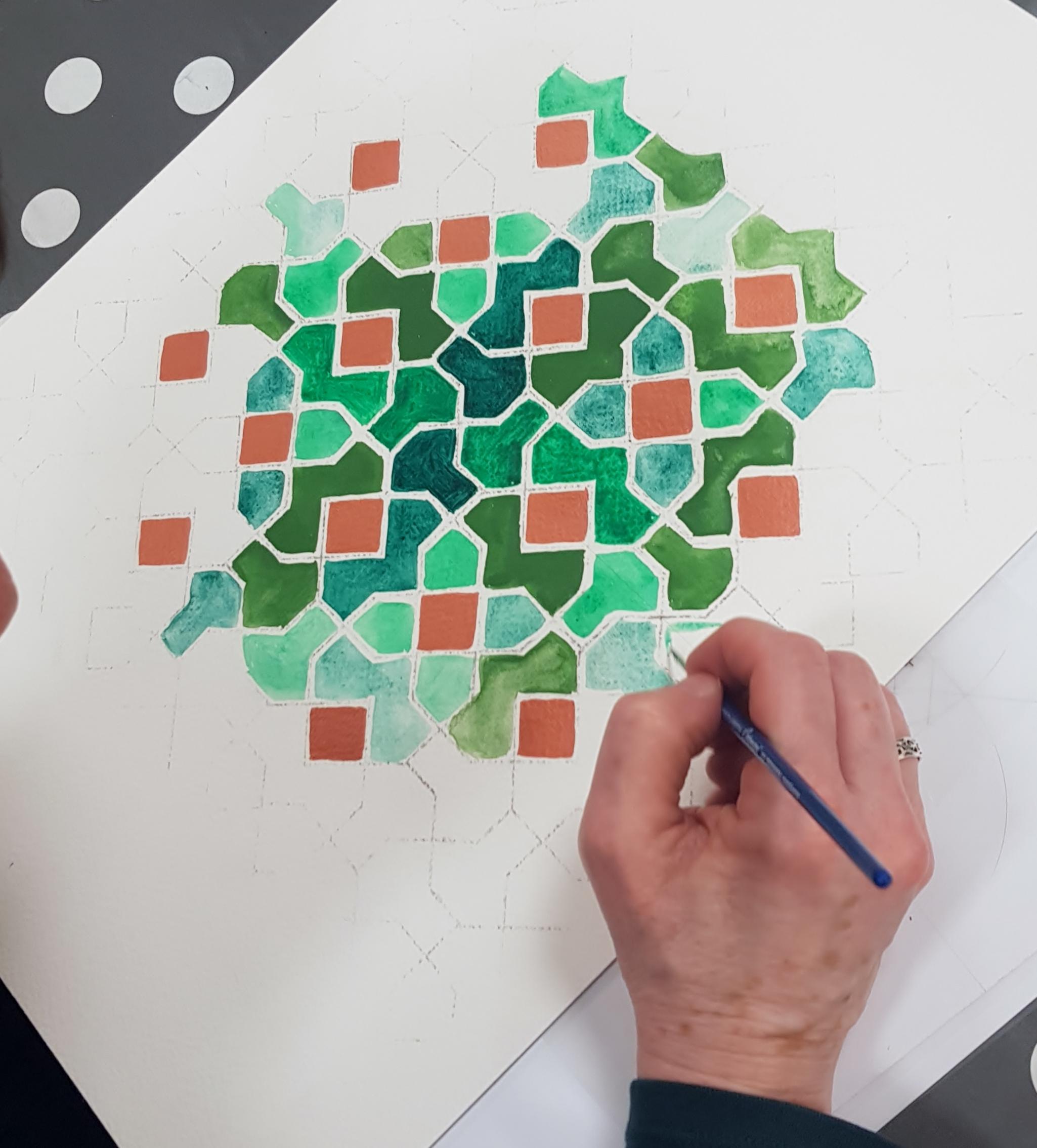 Islamic geometry classes London