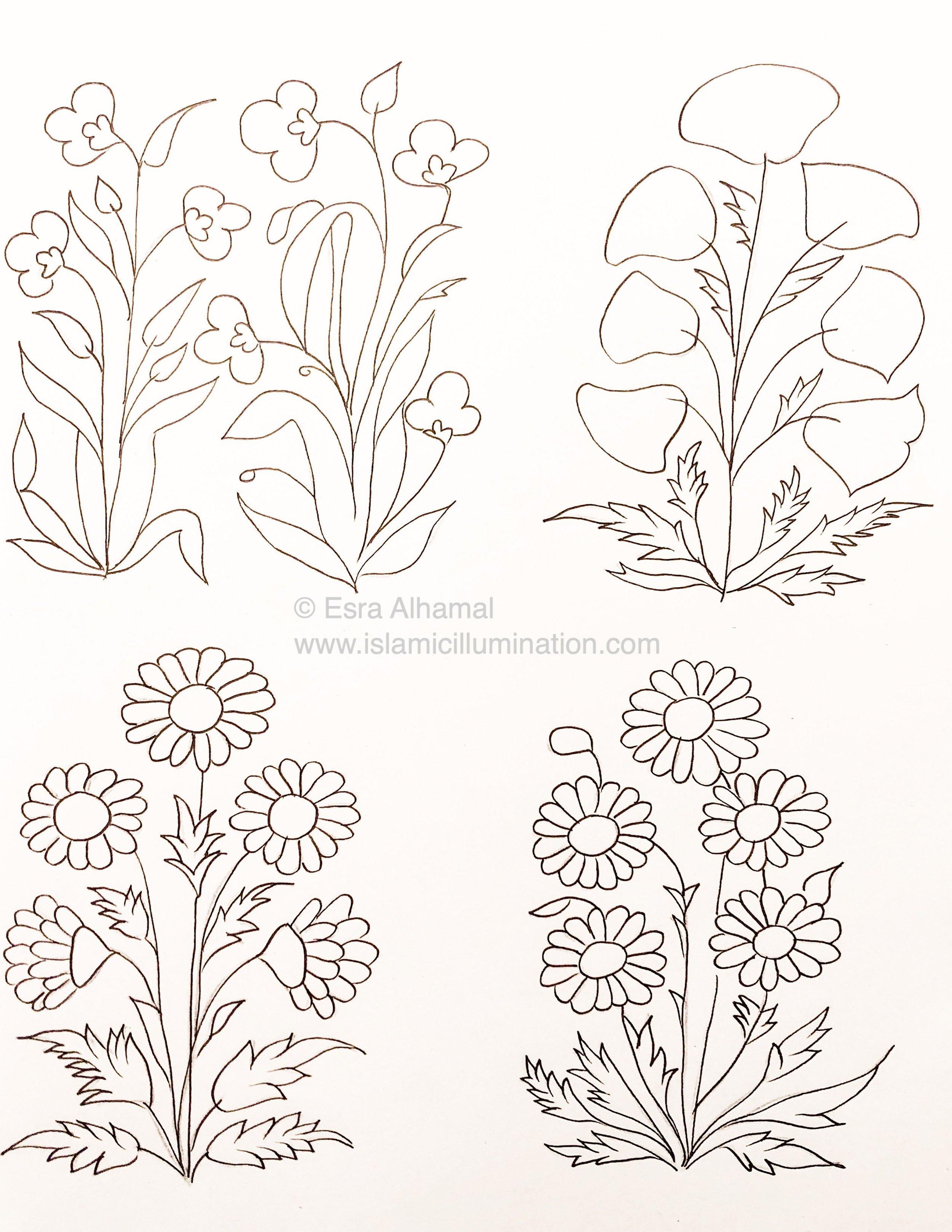 Golden Flower Challenge | start from the left 1, 2, 3, 4