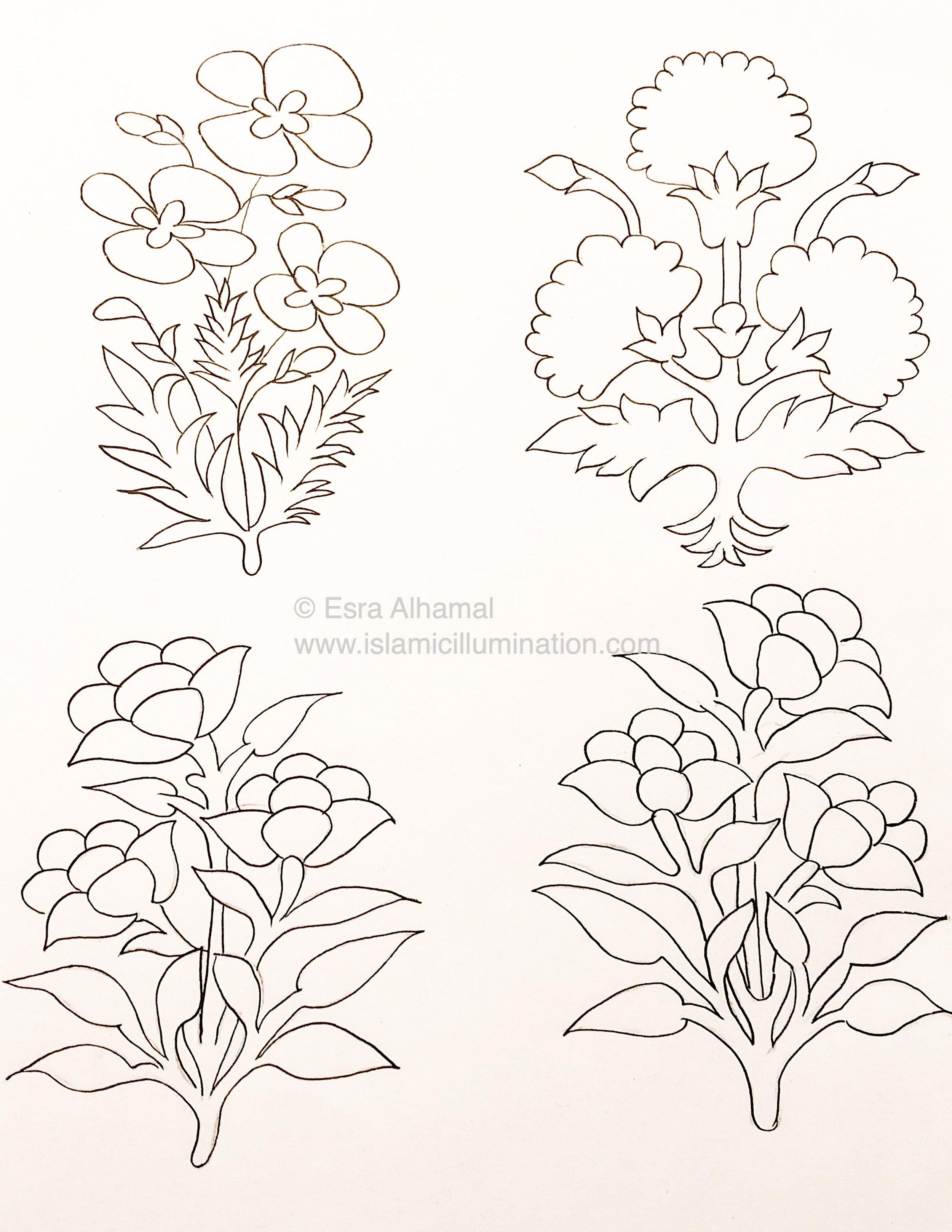 Golden Flower Challenge | start from the left 9, 10, 11, 12