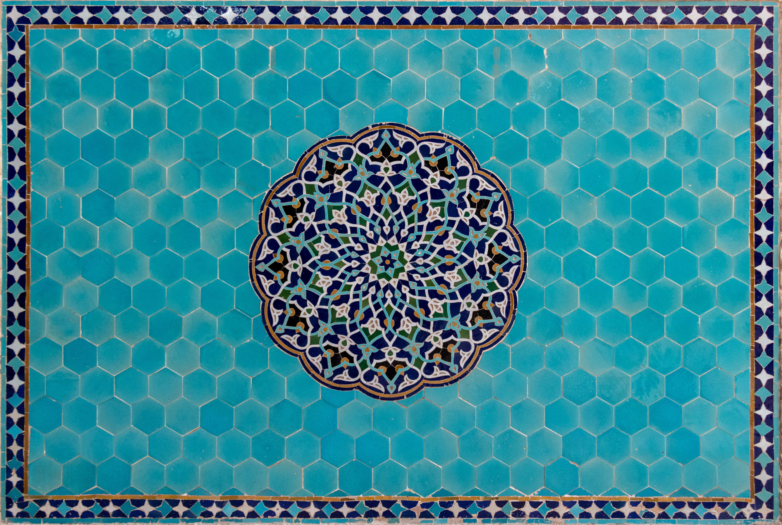 Islamic tiles and ceramics