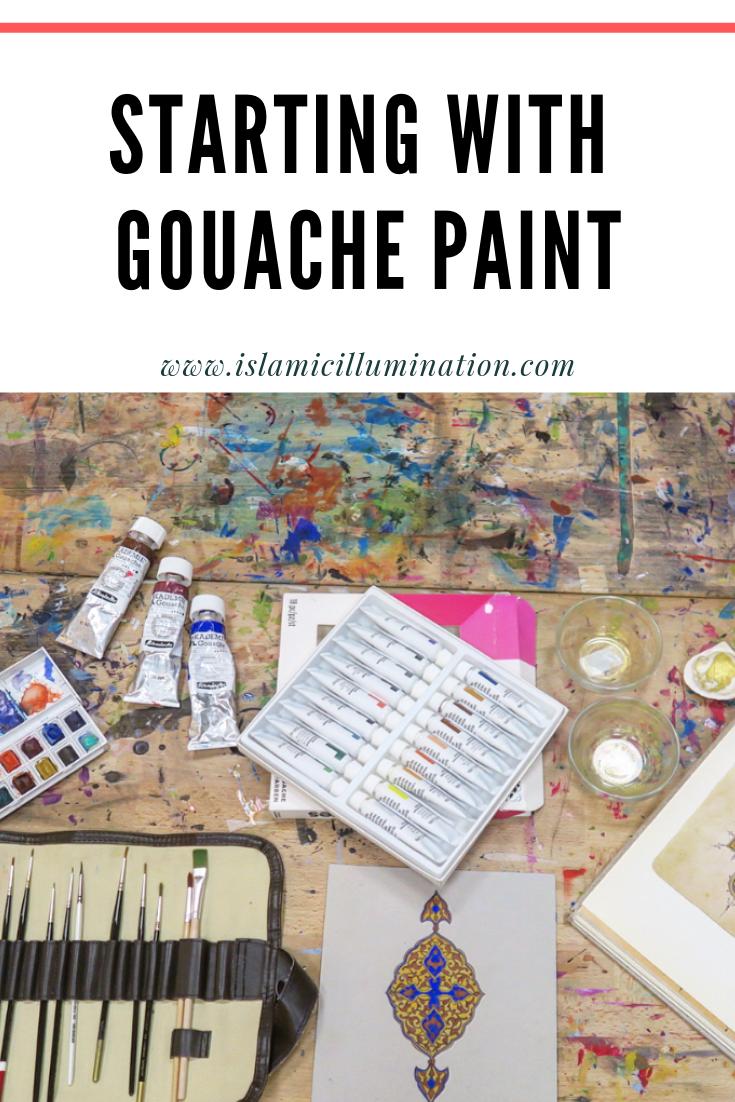What is gouache paint and best gouache paint brands