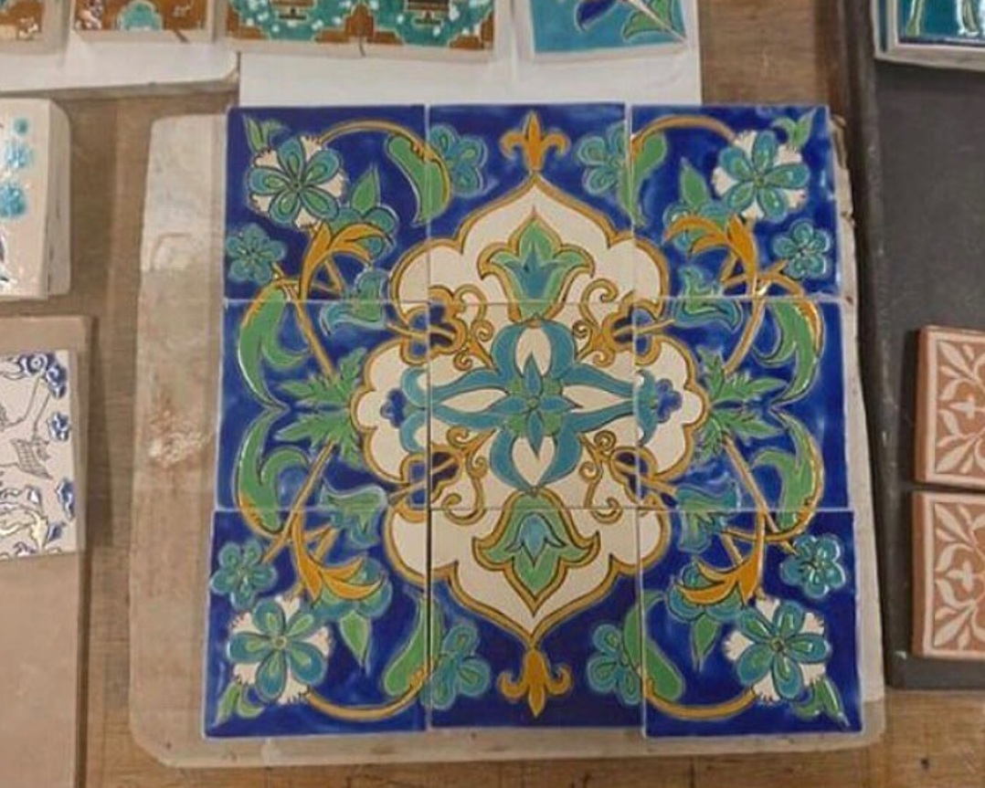 Traditional Islamic Ceramic Tiles  - Click to read