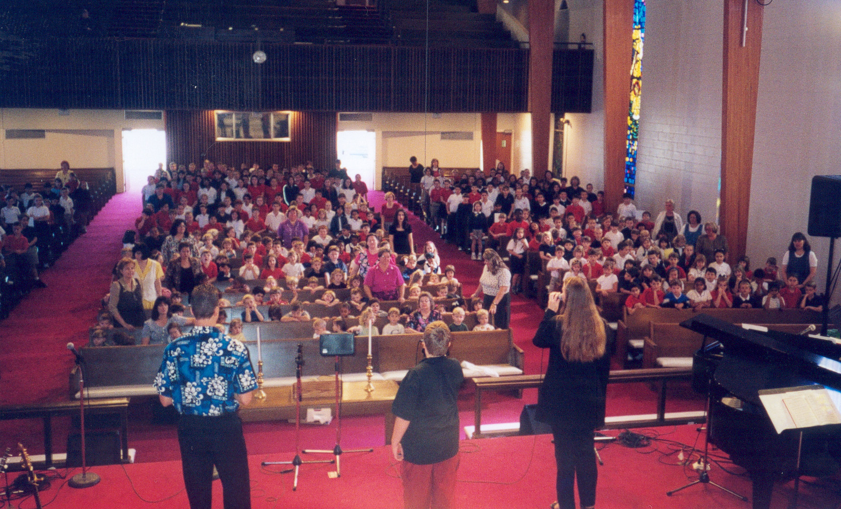 Ministering to a Christian school in Florida